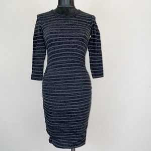 NWT! James Perse Ruched Sides Bodycon Dress
